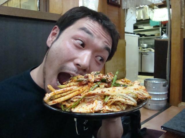 新大久保「韓国料理 松屋」へ行く。_f0232060_2093874.jpg