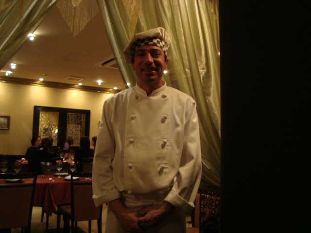 麻布「オスマントルコ宮廷料理 ブルガズアダ」へ行く。_f0232060_21513099.jpg