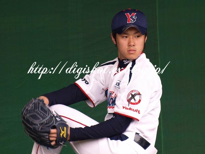 由規投手退団、由くんは当ブログを始めるきっかけとなった選手でした。思い出のフォト!_e0222575_2129485.jpg