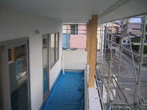 外壁完了・内部下地・気密測定1回目_e0253977_1262238.jpg