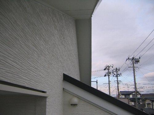 外壁完了・内部下地・気密測定1回目_e0253977_1263054.jpg