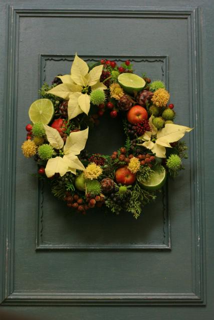 一会スクール12月 そしてクリスマスリース3 実のリース編_a0042928_11415541.jpg