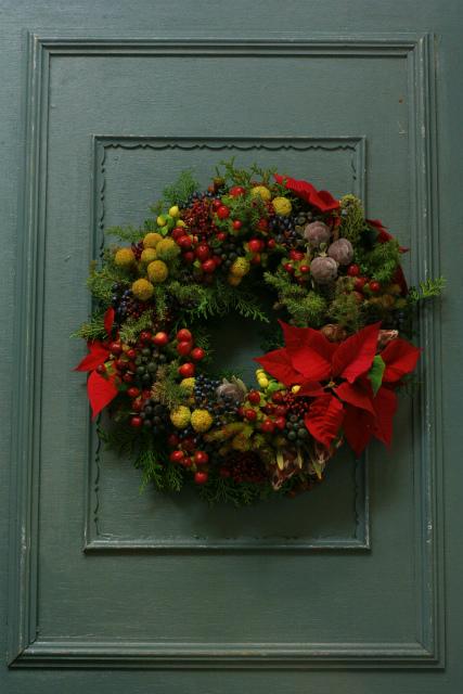一会スクール12月 そしてクリスマスリース3 実のリース編_a0042928_1142496.jpg