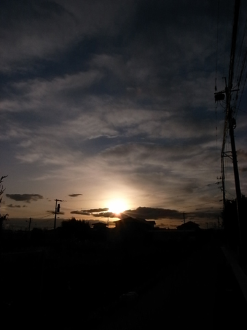sunset at Saga 111223_d0245357_9221721.jpg