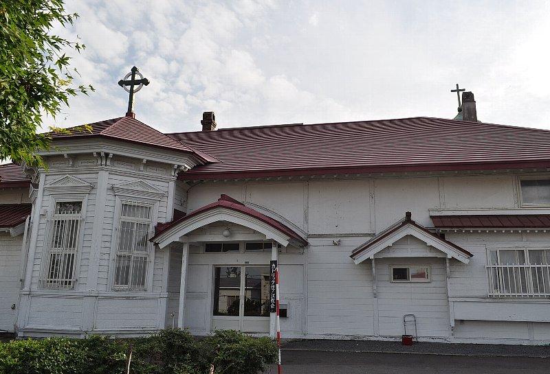 小樽のカトリック住ノ江教会_c0112559_11273837.jpg