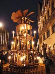 Nuernberg ニュルンベルクの夜のクリスマス _e0195766_6511157.jpg