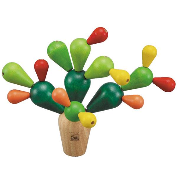 サボテンバランスゲーム Balancing Cactus / PLAN TOYS [プラントイ]_c0222907_21171557.jpg