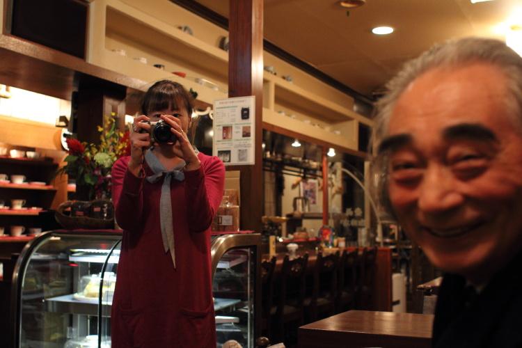 神保町  壹眞(かずま)珈琲店でパチリと_b0061717_23152357.jpg