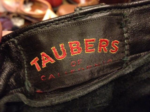 60'S TAUBERS vintage BIKER レザーパンツ!_c0144020_123144.jpg