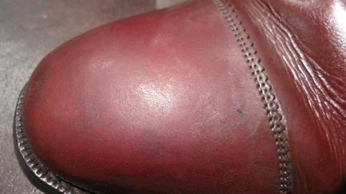 ステインリムーバー~靴のクレンジング_b0226322_1055126.jpg