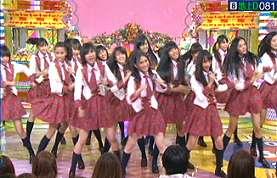 インドネシアの JKT48 「笑っていいとも」に出演_a0054926_22232662.jpg
