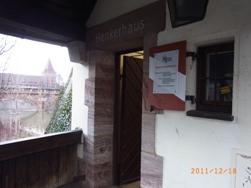 Nuernberg ペグニッツ川の風景と聖ローレンツ教会_e0195766_6135071.jpg