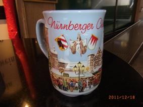 Nuernberg ペグニッツ川の風景と聖ローレンツ教会_e0195766_6174664.jpg