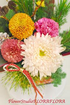 12月30日お届け お正月アレンジメント2012_a0115684_23125612.jpg