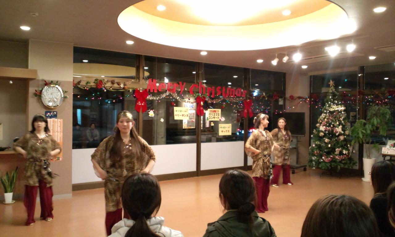 開進堂クリスマスコンサートに出演しました_c0201916_15273224.jpg
