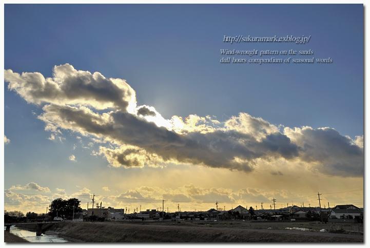 冬空の乱雲。_f0235723_20104818.jpg