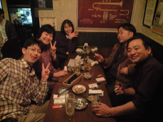 12月18日(日)ISWO団内アンサンブルコンテスト〜忘年会2次会_b0206845_3345094.jpg