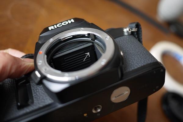 RICOH XR-7 ピントずれ修理_c0157248_015239.jpg