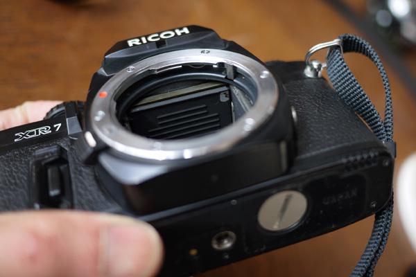 RICOH XR-7 ピントずれ修理_c0157248_053328.jpg