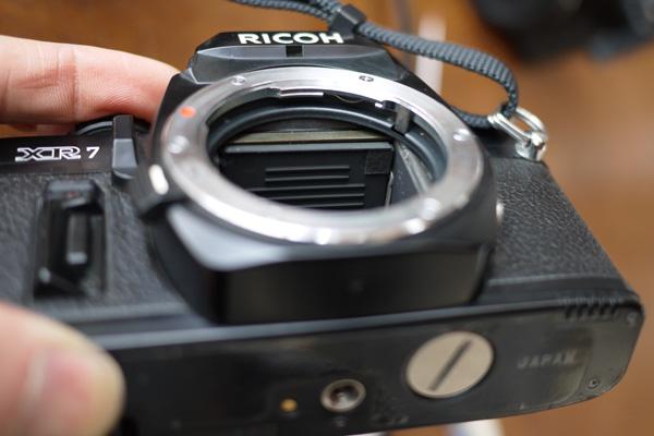 RICOH XR-7 ピントずれ修理_c0157248_054643.jpg