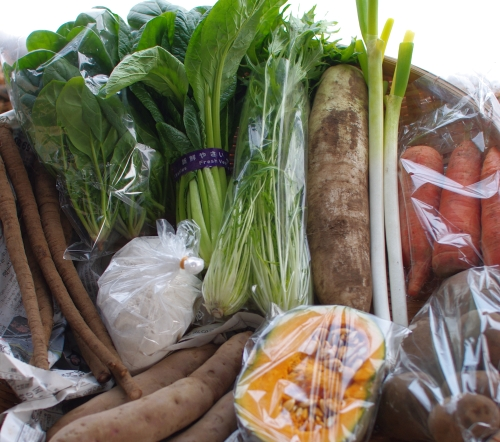 今週の野菜セット(12/27着のみ) 今年度最終回_c0110869_1640599.jpg