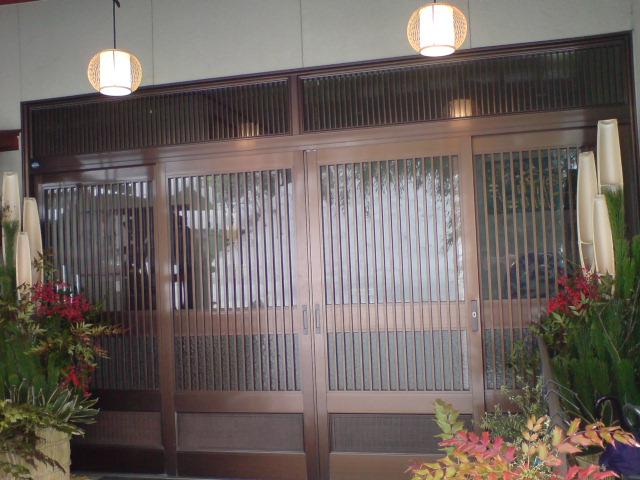 門松を飾りました。_d0182179_18551285.jpg