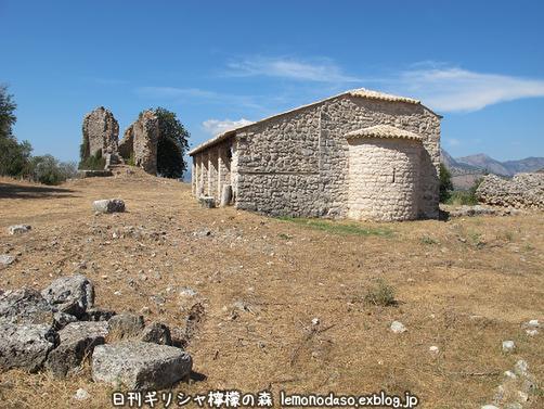 古代ヴヘティオンとビザンティン時代のロギの城 _c0010496_1030592.jpg