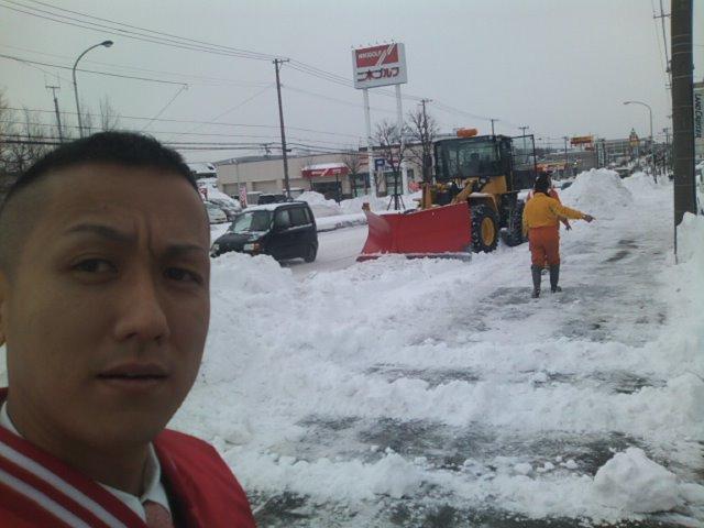 除雪とAPLUSさん_b0127002_12103435.jpg