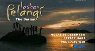 インドネシアのテレビドラマ:Laskar Pelangi The Series 昨日放送開始@SCTV _a0054926_14324932.jpg