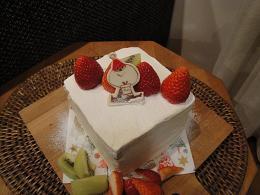 クリスマスケーキ_e0170128_1865880.jpg