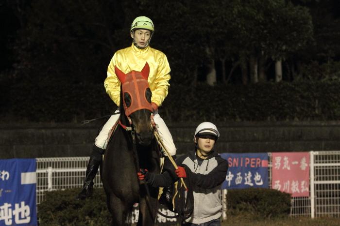 2011年12月25日(日) 高知競馬 9R 馬産地日高協賛特別 C2-1選抜馬_a0077663_8572426.jpg