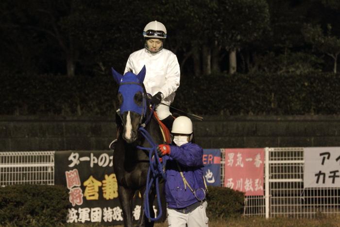 2011年12月25日(日) 高知競馬 9R 馬産地日高協賛特別 C2-1選抜馬_a0077663_8574558.jpg
