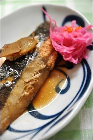山菜ごはん定食。_f0207664_410876.jpg