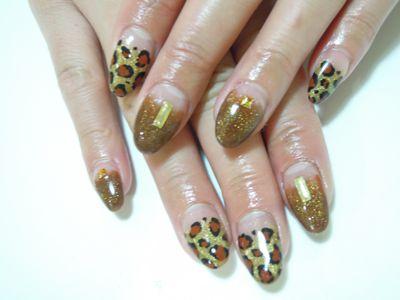 Leopard Nail_a0239065_1848627.jpg