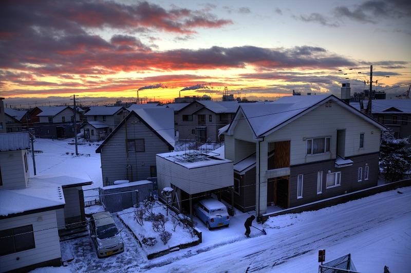 朝7時 ガリガリと雪かきの音が _a0160581_16464048.jpg