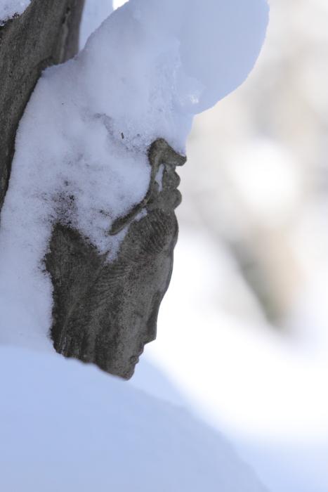 雪の西隆寺 奥会津三島町西方 2011・12・24_e0143883_205632.jpg