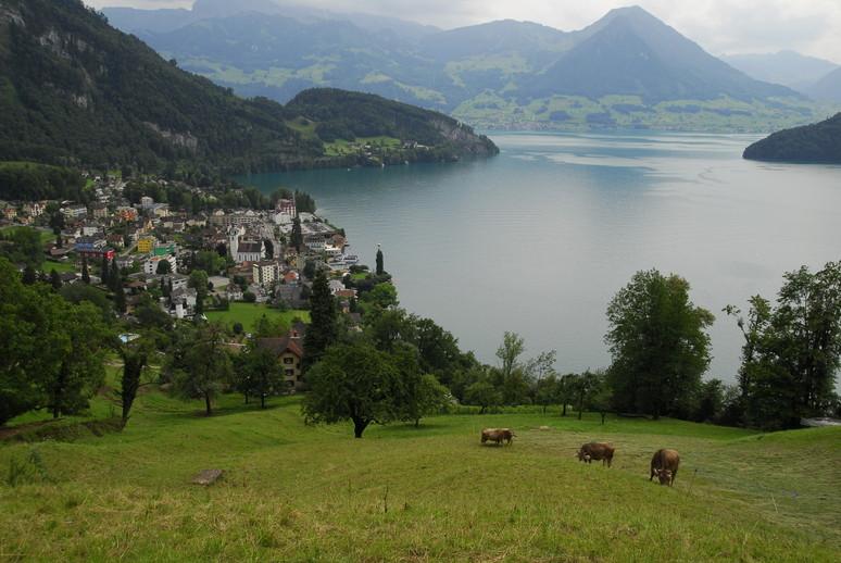 2011年の思い出、憧れのスイスアルプスを訪ねて_c0219616_12563042.jpg