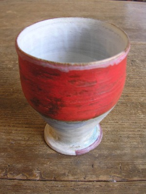 赤いカップ。_b0207631_180356.jpg
