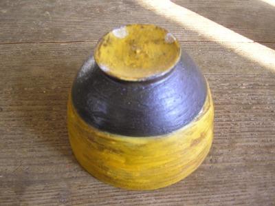 黄色い茶碗。_b0207631_2139112.jpg