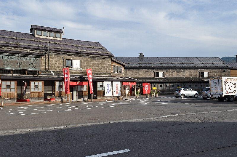 小樽の田中酒造亀甲蔵_c0112559_13224530.jpg