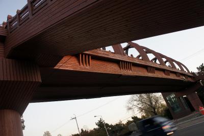 韓国に飫肥杉製の歩道橋?_f0138874_1551118.jpg