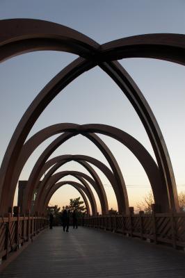 韓国に飫肥杉製の歩道橋?_f0138874_164345.jpg