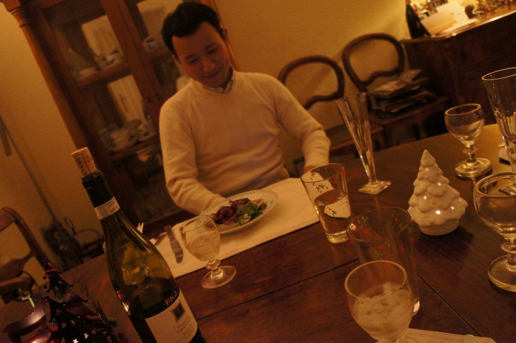 クリスマス晩餐、26日は拙宅で。_c0180686_1922525.jpg
