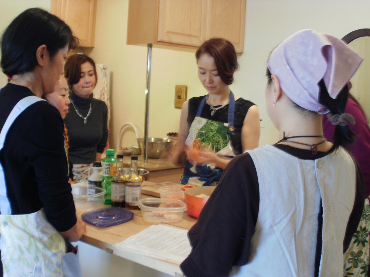 Osechi in NY 2012 クラス始まりました。_f0095325_1612336.jpg
