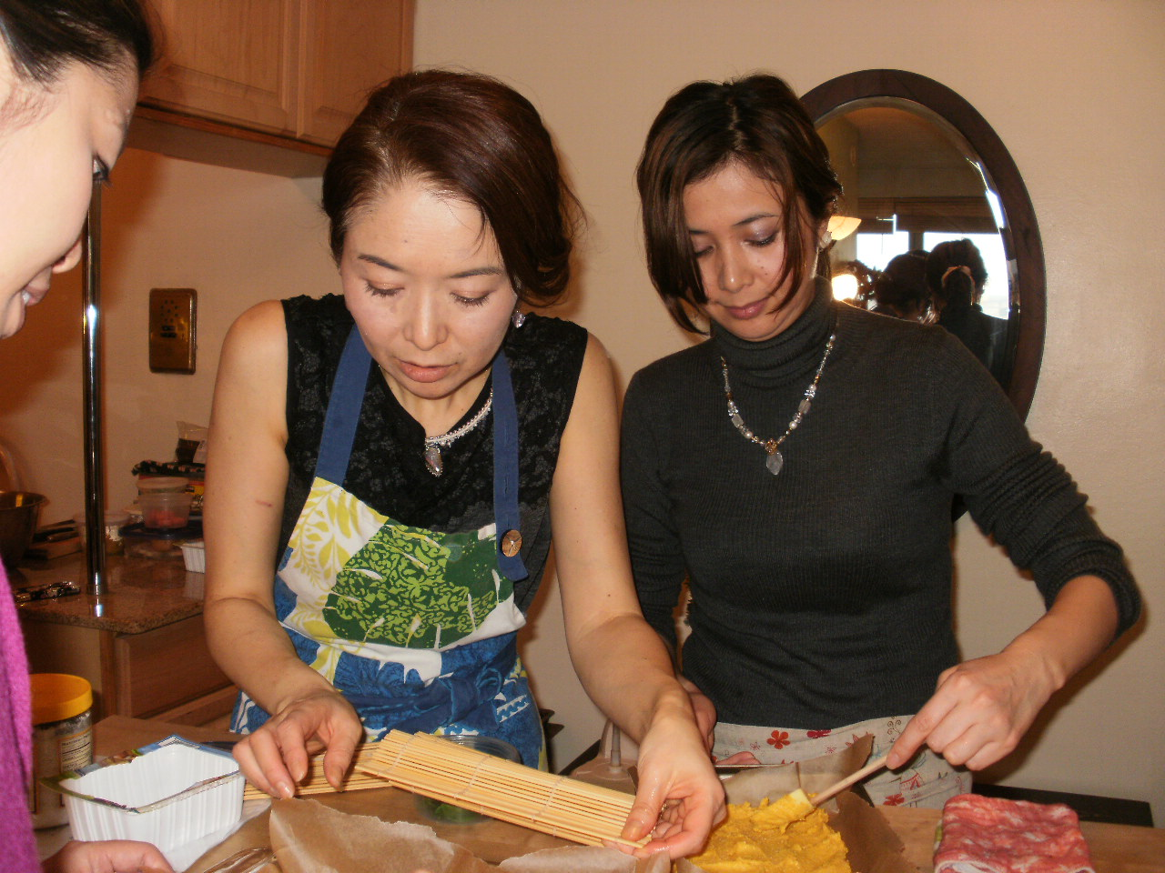 Osechi in NY 2012 クラス始まりました。_f0095325_1653539.jpg