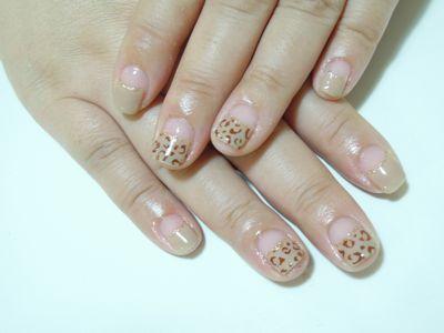 Leopard Nail_a0239065_20244335.jpg