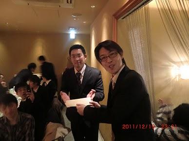 忘年会(in札幌オフィス)_e0206865_1465523.jpg