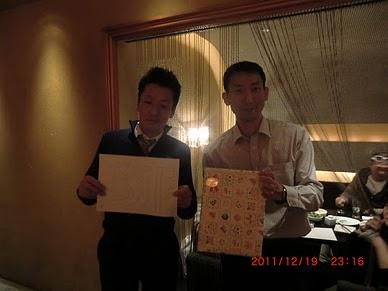 忘年会(in札幌オフィス)_e0206865_1485049.jpg