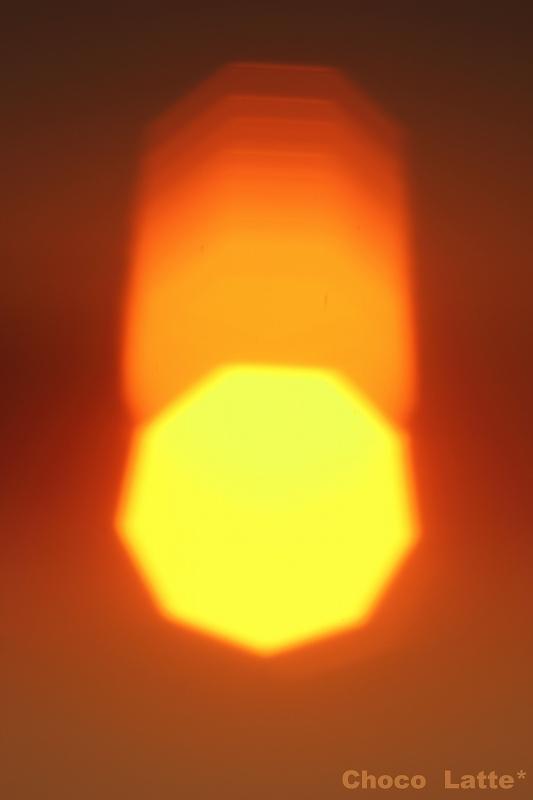 空と夕陽とテトラポット ♪_b0206470_21312034.jpg