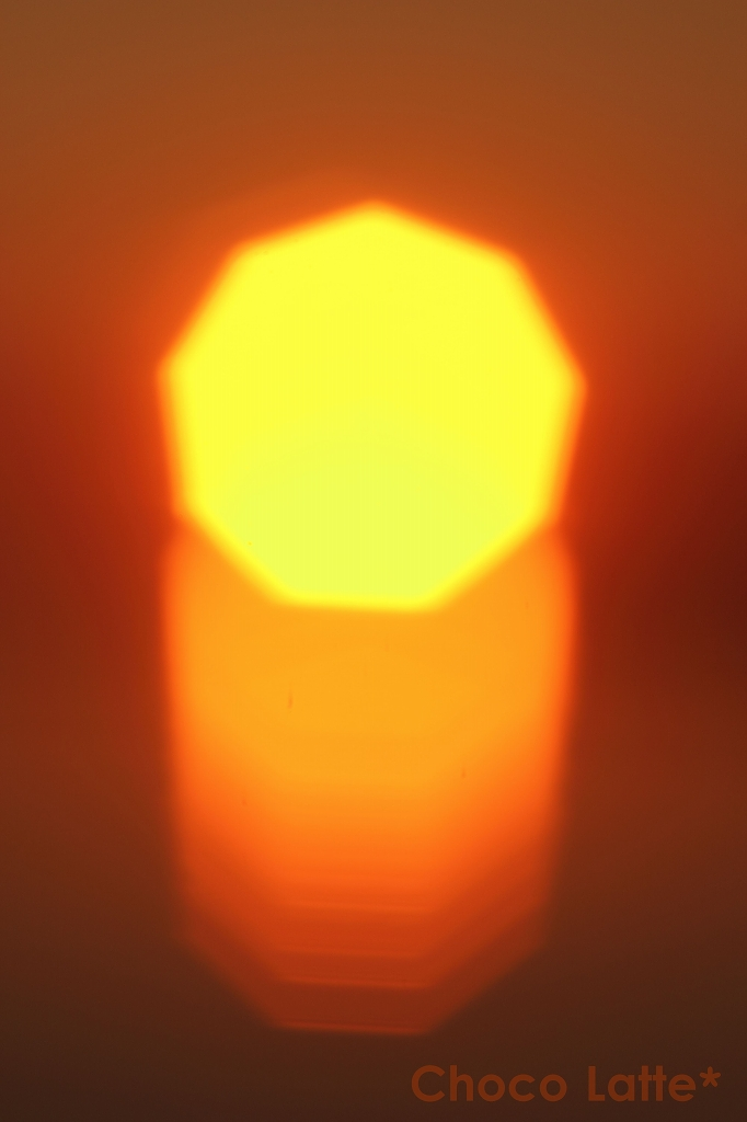 空と夕陽とテトラポット ♪_b0206470_2131412.jpg